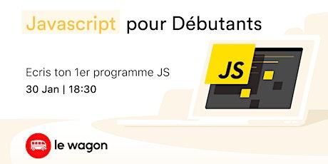 Workshop : Javascript pour débutants billets