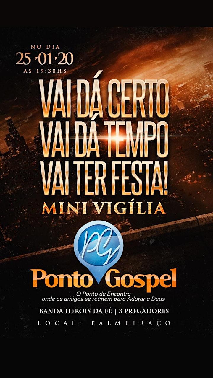 Imagem do evento Ponto Gospel - Mini Vigília
