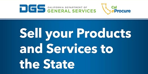 4th Annual California DGS How to Do Business with the State -Silicon Valley
