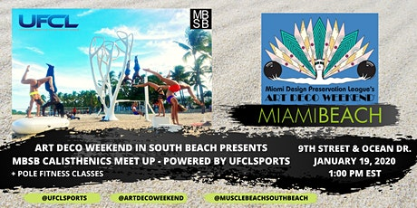 MBSB CALISTHENICS MEET-UP Powered by UFCLSPORTS @ADW 2020 tickets