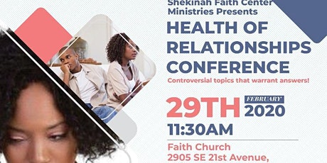Health of Relationships Conference tickets