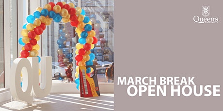 March Break Open House 2020 tickets