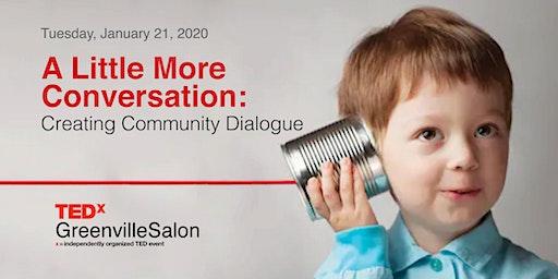 January Salon: A Little More Conversation