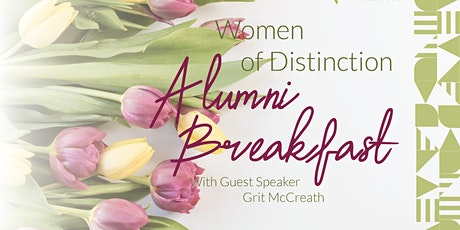 Women of Distinction Alumni Breakfast tickets
