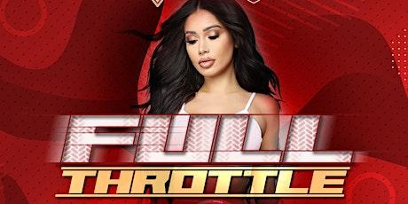 Full Throttle tickets
