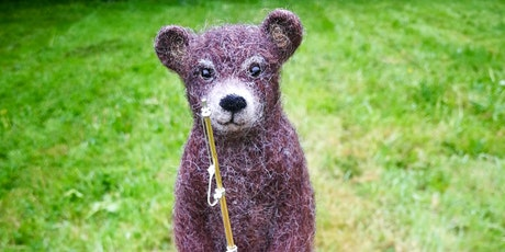 Vintage Bear Needle Felting Workshop at The Old School Gallery in Yetminster 30th May 2020 tickets