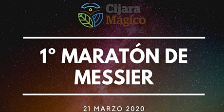 Maraton de messier 2020 entradas