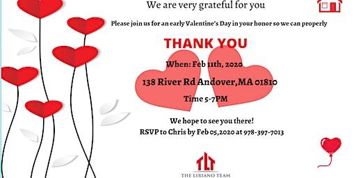 First client appreciation event (The Liriano Team)