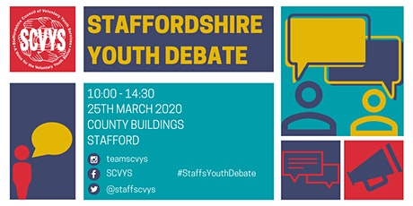 Staffordshire Youth Debate tickets