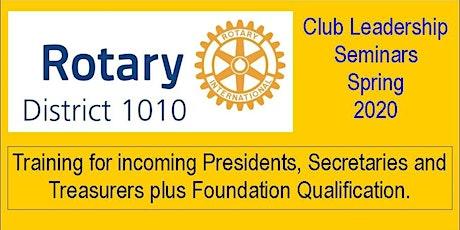 Club Leadership Seminar (CLS) Portlethen tickets