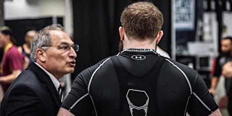 Skipjack Cohen Weightlifting Coaching Seminar billets