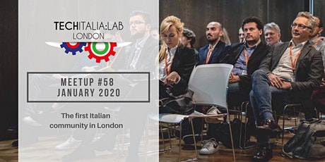 TechItalia London Meetup #58 - January 2020 tickets