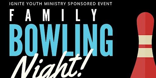 Family Bowling Night