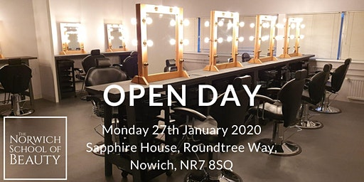 The Norwich School of Beauty Open Day