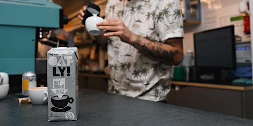 Oatly x Balcone x Caravan Zero Waste Latte Art Throwdown