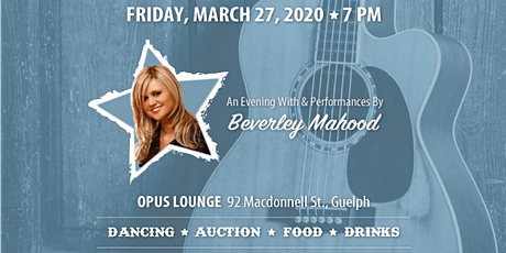 A Little Bit Country, an Evening with Beverley Mahood. tickets