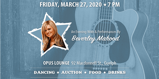 A Little Bit Country, an Evening with Beverley Mahood.