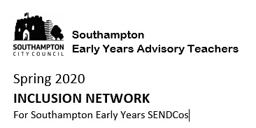Inclusion Network for Early Years SENDCos