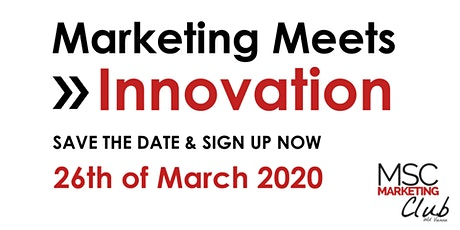 Marketing Meets Innovation tickets