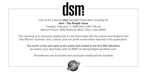 dsm spotlight issue: People