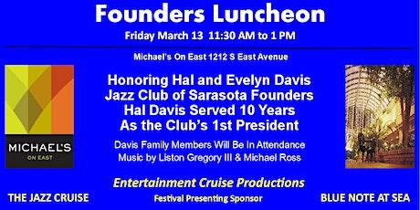 Founders Luncheon - Jazz Club of Sarasota tickets