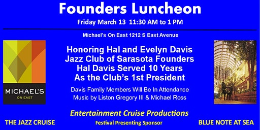 Founders Luncheon - Jazz Club of Sarasota