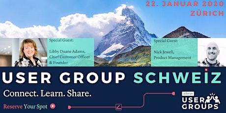 Alteryx User Group Schweiz/Switzerland Q1/2020 tickets