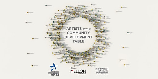Artists at the Community Development Table Workshop
