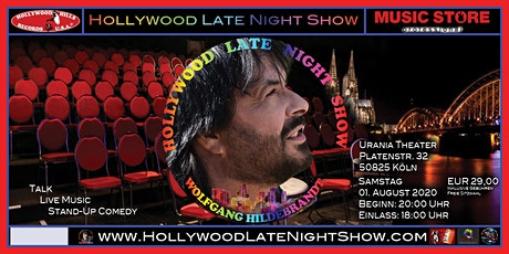 Wolfgang Hildebrandt - Hollywood Late Night Show fällt vorerst aus Tickets