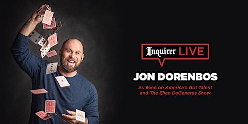 Inquirer Live: Jon Dorenbos