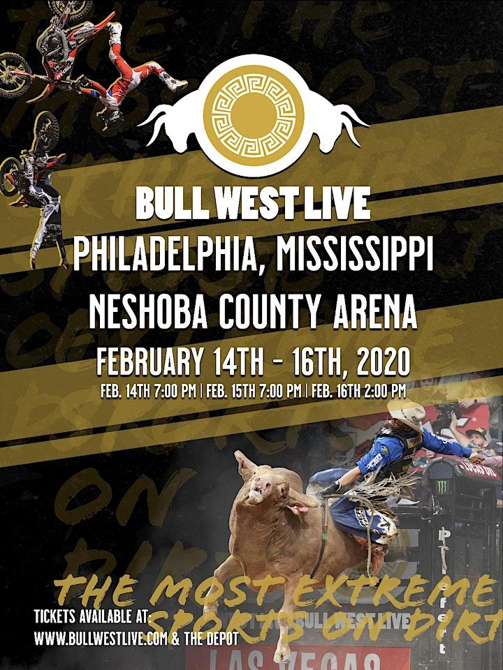 Bull West Live Inc. Invitational Bull Riding & FreeStyle Motocross image