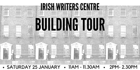Tour of the Irish Writers Centre Building | Spring Open Day 2020 tickets