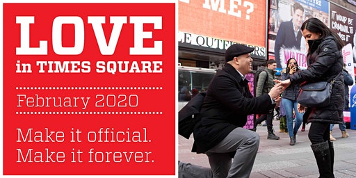 Love in Times Square 2020: Surprise Proposals