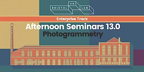BVRL Afternoon Seminars 13.0 - Photogrammetry tickets
