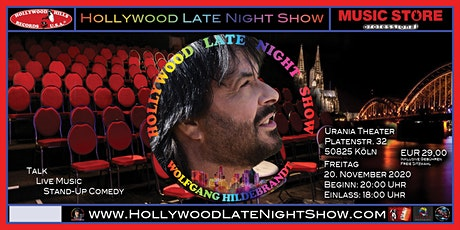 Wolfgang Hildebrandt - Hollywood Late Night Show tickets