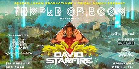 Temple of Boom Feat David Starfire tickets