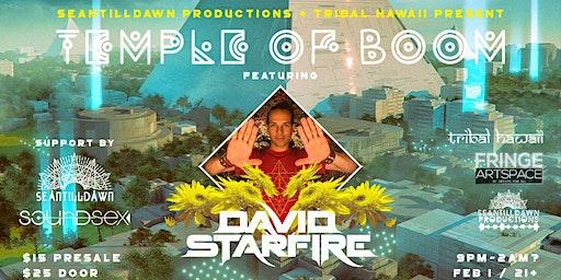 Temple of Boom Feat David Starfire