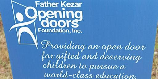 Father Kezar Opening Doors Foundation 1st Cornhole Tournament