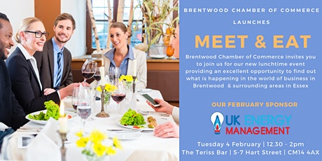 Meet & Eat sponsored by UK Energy Management tickets