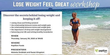 Lose Weight Feel Great Workshop