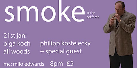 Smoke Comedy featuring Josie Long tickets