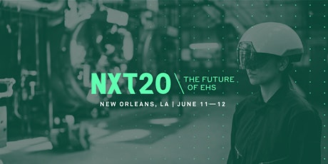 NXT 2020: The Future of EHS tickets