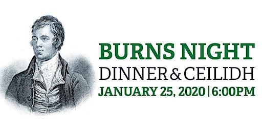 Burns Night Dinner & Ceilidh