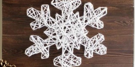Coffee & Craft - Snowflake String Art tickets