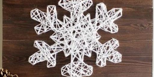 Coffee & Craft - Snowflake String Art