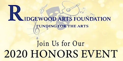 Ridgewood Arts Foundation Honors 2020