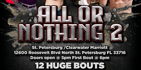 All or Nothing 2 Boxing Live in Tampa Bay tickets
