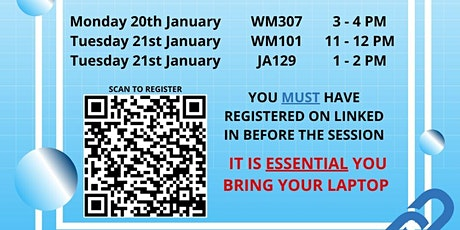 LinkedIn Workshop (SSL FINAL YEARS ONLY) tickets