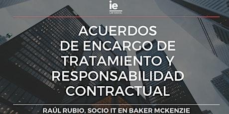Acuerdos de encargo de tratamiento y responsabilidad contractual entradas