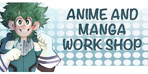 Kids 'Create  Anime & Manga Characters' Workshop with Dommy Downs